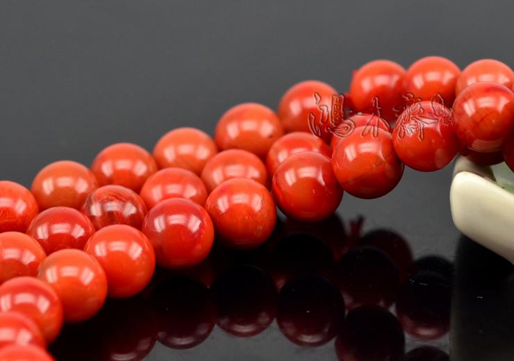 南红柿子红手串9MM108颗正宗四川凉山九口极品孤品包邮证书N198 (8).JPG
